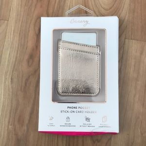 NWT Casery Stick-On Card Holder